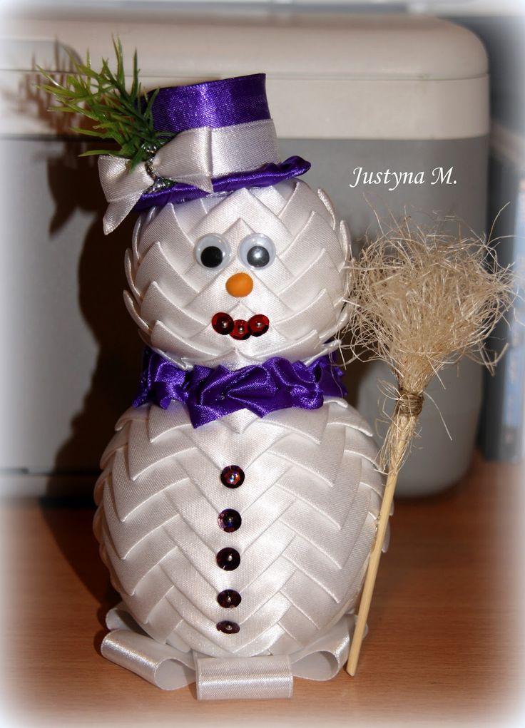 Justin M .: artichoke snowman