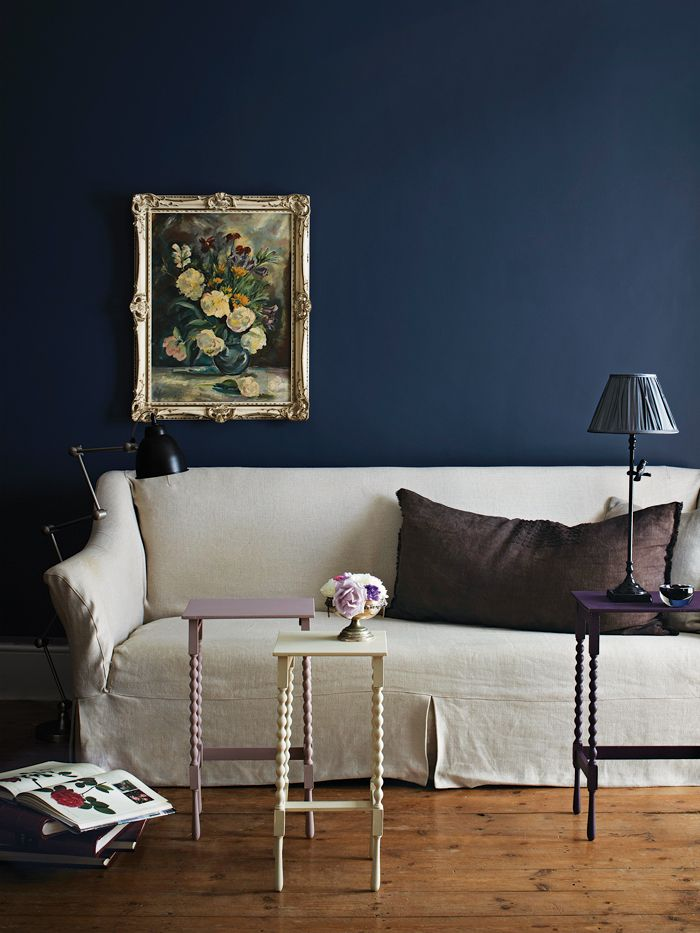 Living Room Decoration: Plascon Inspired Colour, Loving Ink Blue!