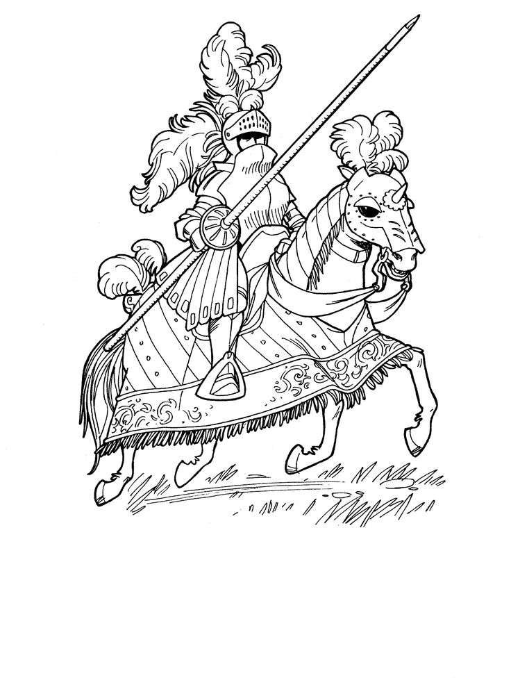knights legend coloring pages for kids printable castles and knights coloring pages for kids
