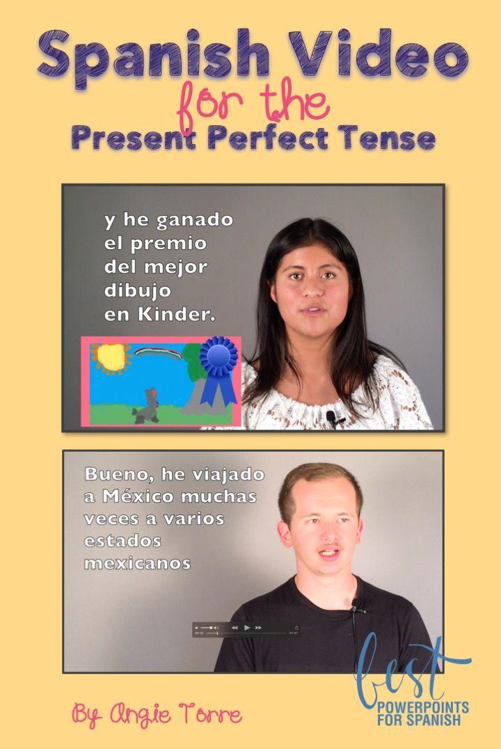 Spanish Video for the Present Perfect Tense: Rodrigo and Jessica talk ...