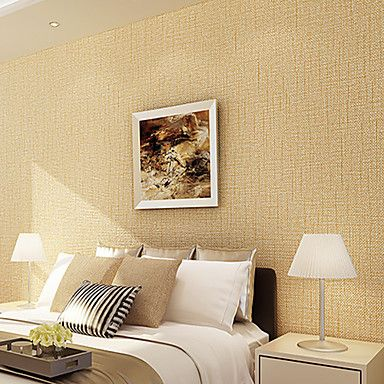 Contemporary Wallpaper Art Deco 3D Wave Point Wallpaper Wall Covering Non-woven Fabric Wall Art – AUD $ 70.06