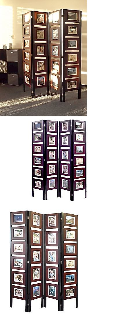 Screens And Room Dividers 31601 Oscar Picture Folding Screen Room Divider Standing Photo Frames Collage