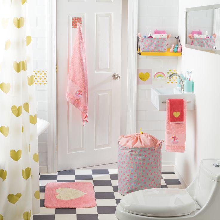 En Casaideas podrás encontrar entretenidos detalles para hacer que la hora del baño de tu hija sea muy divertida.