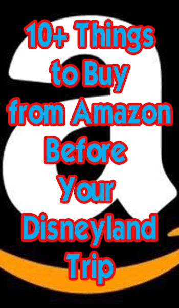 10 things you need to buy before visiting Disneyland. I know this says Disneyland but this stuff would be good for wdw too!