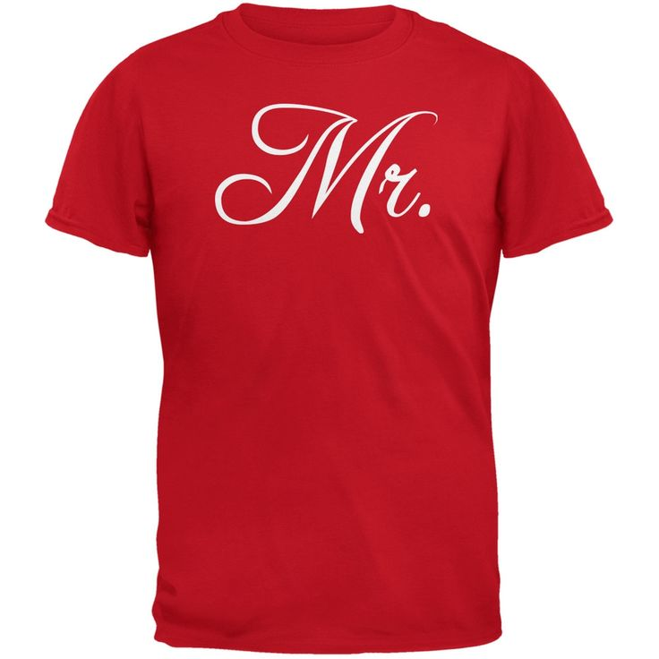 Valentine's Day - Fancy Mr. Red Adult T-Shirt