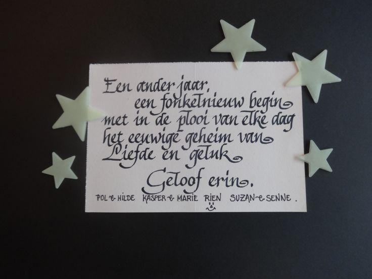 kalligrafie Hilde Herpelinck