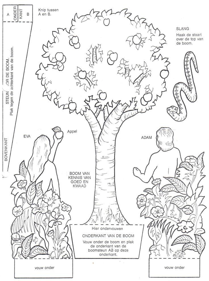 33 best OT Adam en Eva Adam and Eve images on Pinterest