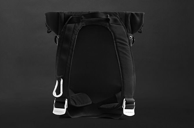 The Backpack has comfort-fit straps that hug your body for less shoulder strain