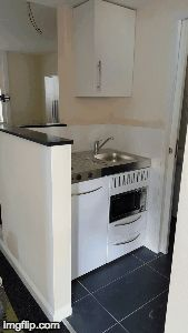 Another Great Installation Of Our Space Saving Mini Kitchens! Ideal For  Studio Flats, Offices