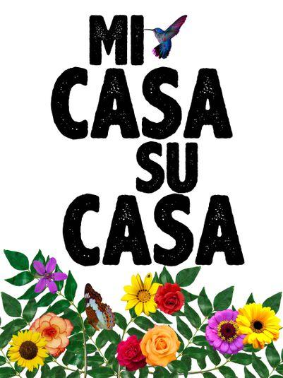 Arte: MI CASA, SU CASA! Artista: Ana Paula Hoppe