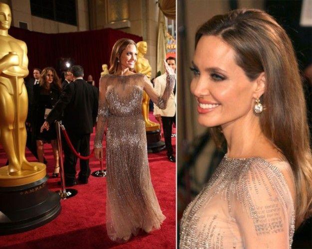 Angelina Jolie agli Oscar 2014