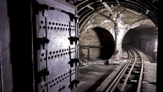 London's abandoned underground mail train