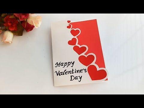 Beautiful Handmade Valentine S Day Card Idea Diy Greeting Card