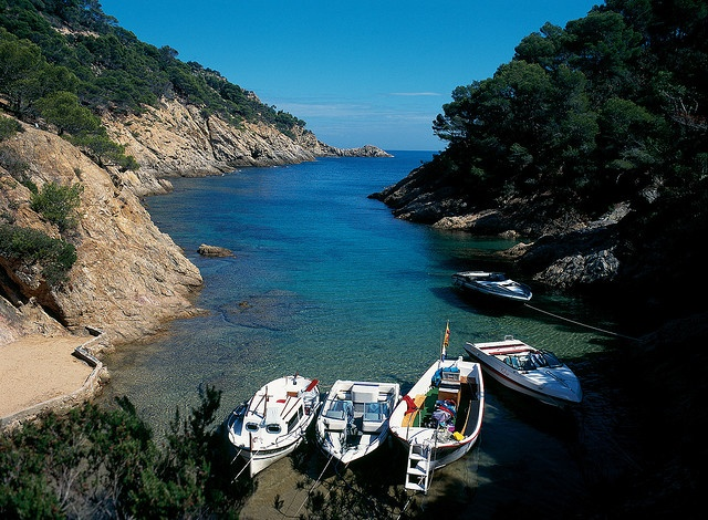 There are always special sights to discover: Cala Bona, Tossa de Mar #CostaBrava