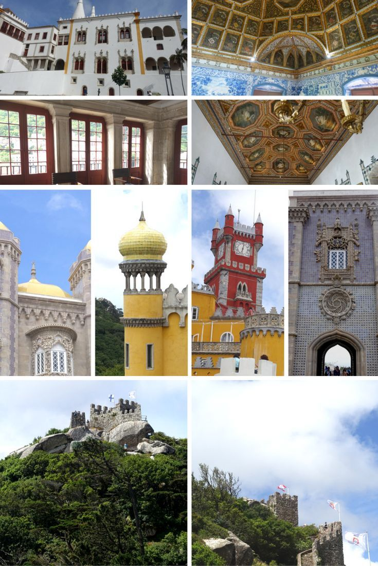 Sintra is a fun day trip from Lisbon, and it is a town that is definitely all about the castles with three of the best in Portugal to tempt you