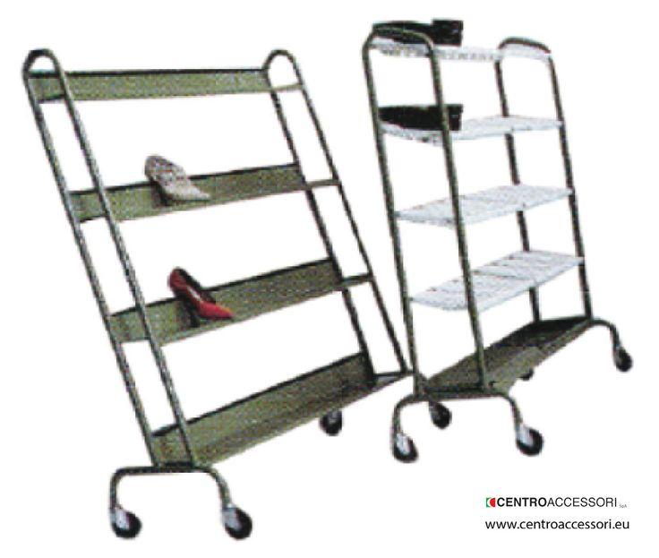 Carrello porta scarpe. Trolley for shoes #CentroAccessori