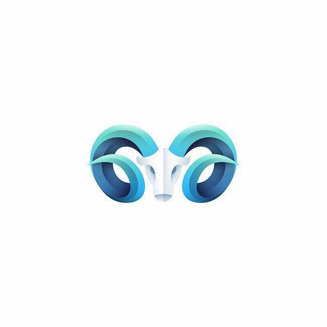 Follow us @logoinspirations Goat by @kartashev_yuri - ONLINE LOGO MASTERCLASS @learnlogodesign @learnlogodesign - Want to be featured next? Follow us and tag #logoinspirations in your post