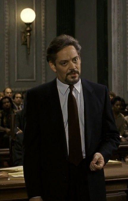 """Uznany za niewinnego"" (1990) = ""Presumed Innocent"" (1990), Raul Julia (9 march 1940 – 24 october 1994)"