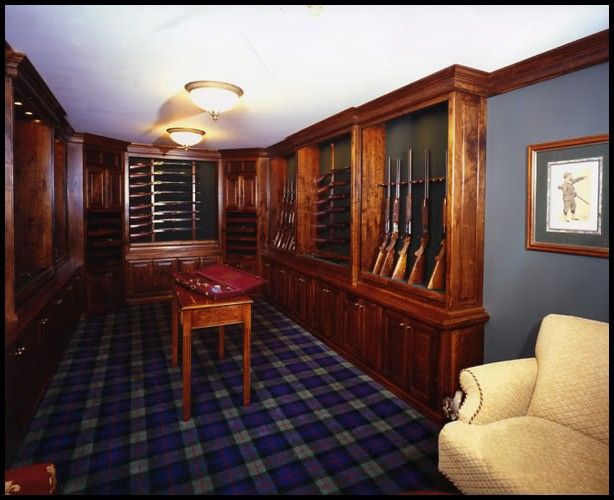 434 best gun room images on pinterest hunting hunting for Hidden gun room