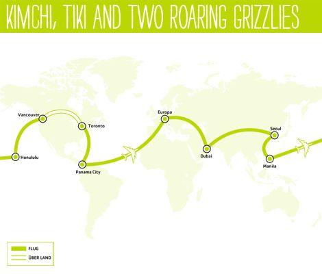 Um die Welt fliegen schon ab € 1.499,- | Around the World Ticket | STA Travel | Around the World Ticket