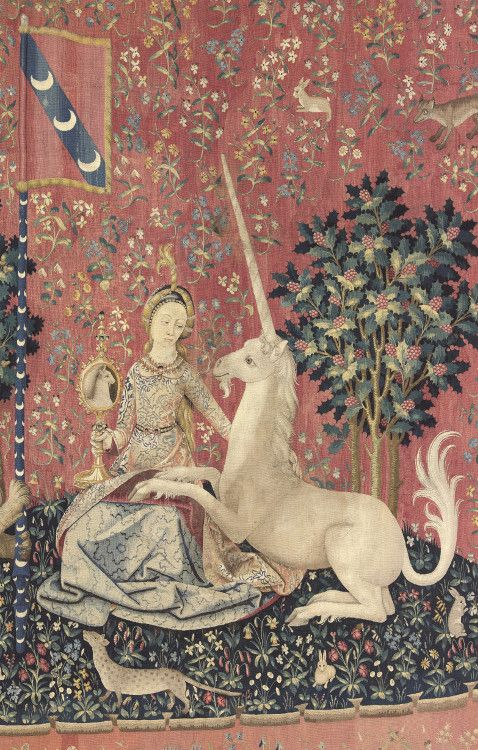 Les 25 meilleures id es de la cat gorie la licorne sur - La tapisserie de la dame a la licorne ...