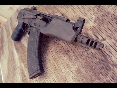 How to Install Our C39 Micro Handguard on a Micro Draco! - Ronin's Grips