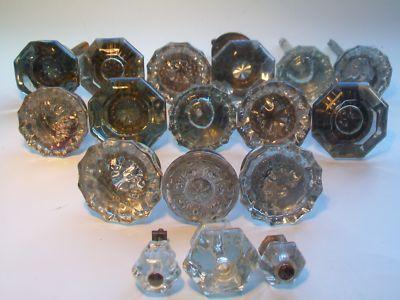 Vintage Door Knobs | DIY With Vintage Glass Door Knobs | Sheila Zeller Interiors
