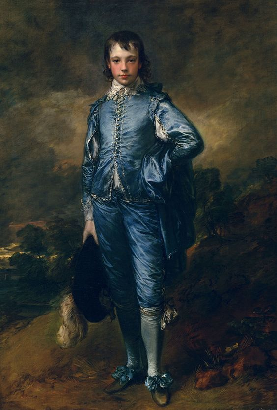 Blue boy Thomas Gainsborough 1770 olio su tela Huntington Gallery San Marino
