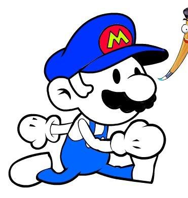 Jogos de colorir online: Mario