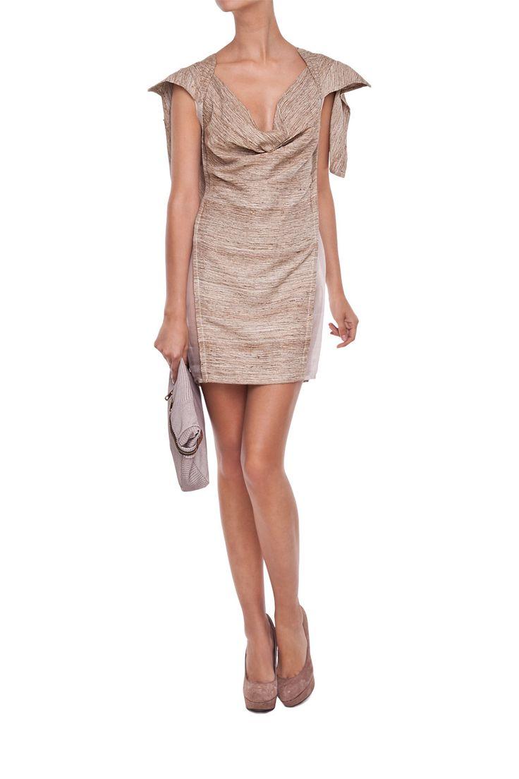 Mostrami |Jedwabna sukienka z peleryną http://mostrami.pl/product-pol-2303-Jedwabna-sukienka-z-peleryna-.html
