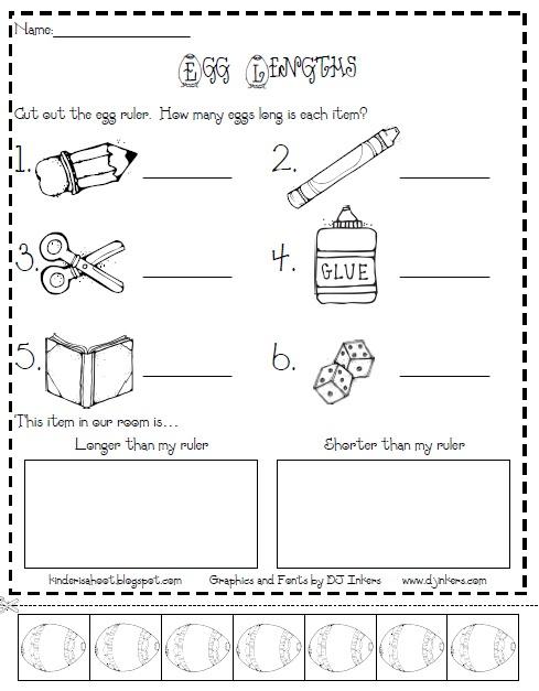 Kindergarten Is A Hoot!: Measurement, DJ Inkers, and **TWO FREEBIES!!**