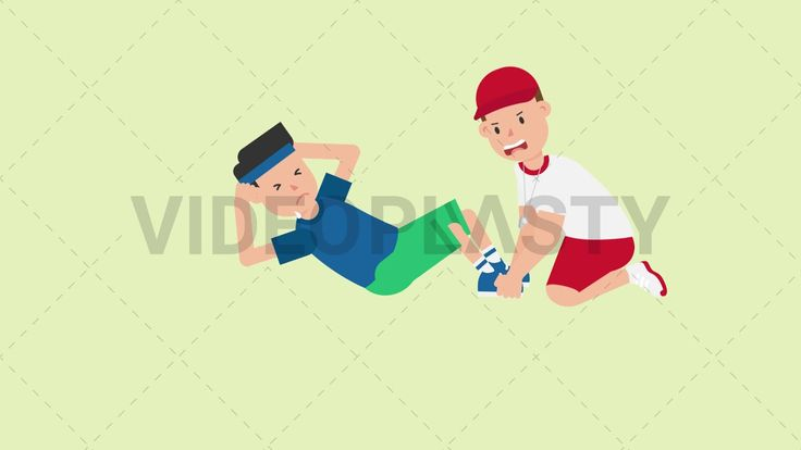 Download: http://ift.tt/2w8TGhq  A man wearing a blue t-shirt green shorts and a blue headband is doing situps (abdominalexercises) sweat going down his face with the help of his coach who is holding his legs.  Two version are included: normal (with a start animation) and loopable. The normal version can be extended with the loopable version  Clip Length:10 seconds Loopable: Yes Alpha Channel: Yes Resolution:FullHD Format: Quicktime MOV  For more royalty free video assets visit…