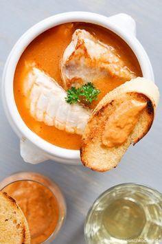 Bouillabaisse Französische Fischsuppe
