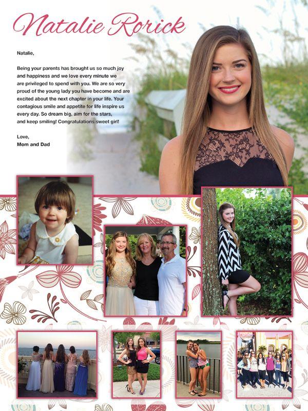Senior Yearbook Ads | Mare Design Boutique