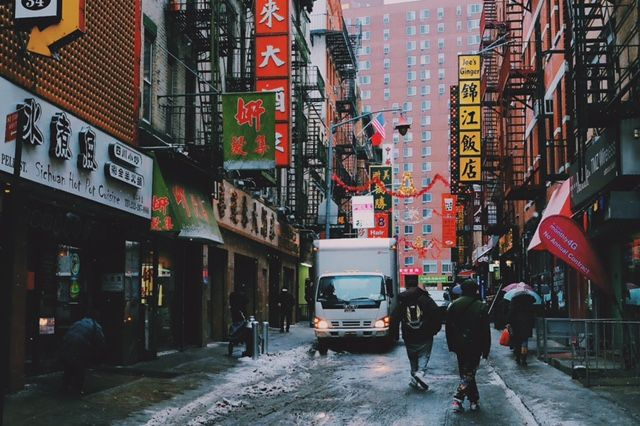 Downtown Chinatown, NYC.