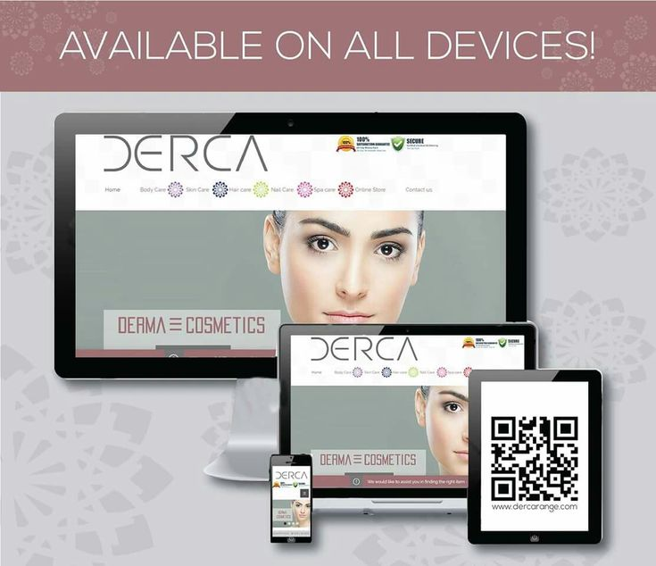 Visit www.dercarange.com we are available on all devices, get free skin advice online from your tablet or desktop
