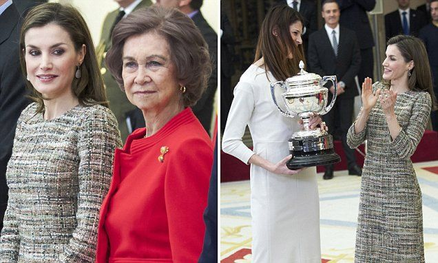 Queen Letizia of Spain at the National Sports Awards