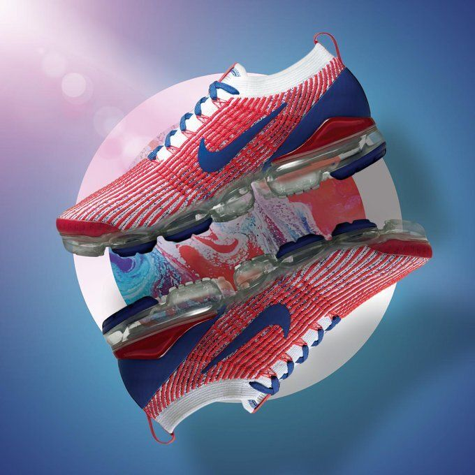 Nike Air VaporMax Flyknit 3 USA in 2020