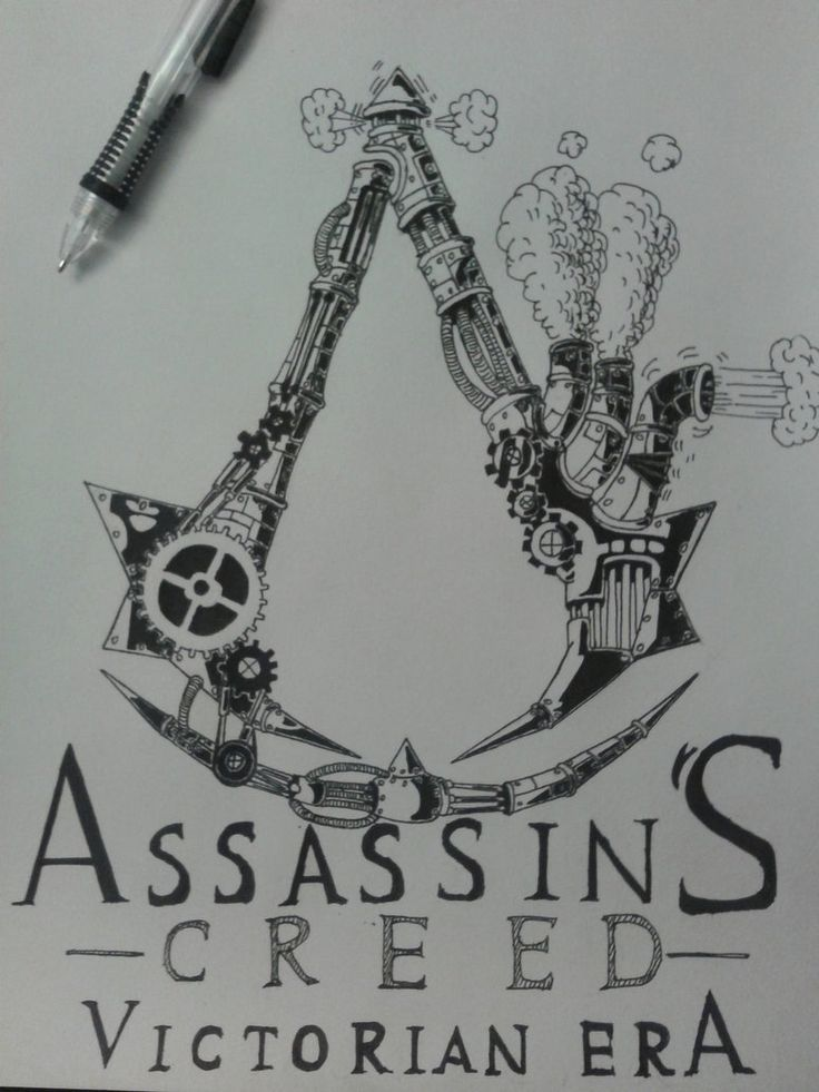Steampunk Assassin's Creed LOGO