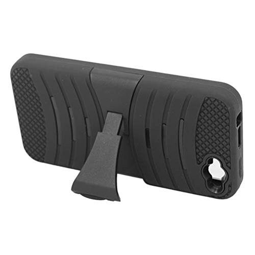 Amazon Fire Phone - Black / Black - Hybrid Wave Shock Resistance with Kickstand Cell Phone Protector Case Cover Accessory + [Protech Monkey StylusTM]. Protect and personalize your new Amazon Fire Phone with this great cell phone case. This cute, fancy & pretty cell phone accessory case provides protection by preventing scratches and its perfect fit make the phone looks as slim as if it acted as an invisible shield. Hard plastic was reinforced to the edges, sides, and back to ensure the…
