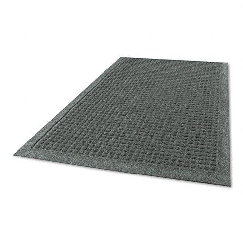 Guardian EG030504 - EcoGuard Indoor Wiper Mats, Rubber, 36 x 60, Charcoal-MLLEG030504 by Guardian. $64.84. Help protect our planet while keeping your own corner of the world clean. Carpeted surface of this eco-friendly mat is made from 100% post-consumer plastic bottles. Rubber backing is made from used tires. And it'll get the job done with 24 oz. fibers for better absorbency and bi-level construction that traps dirt below surface. Tapered edge helps prevent tri...
