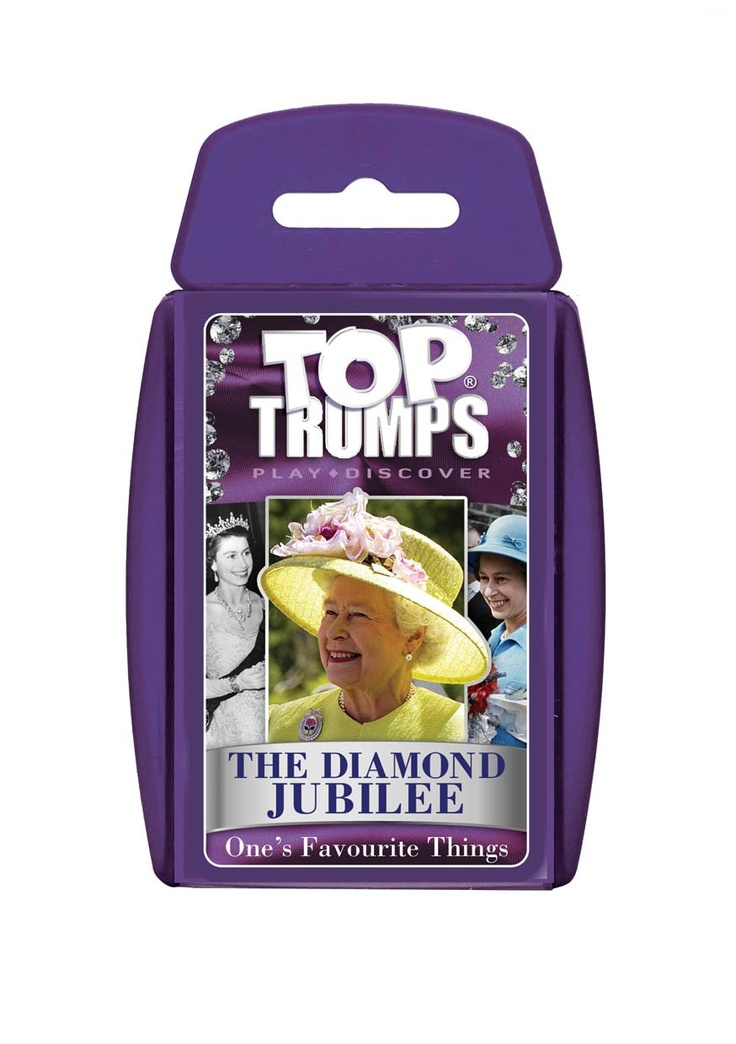 Queens Diamond Jubilee Top Trumps - Keeping in the spirit of 2012 - A little something for the children.