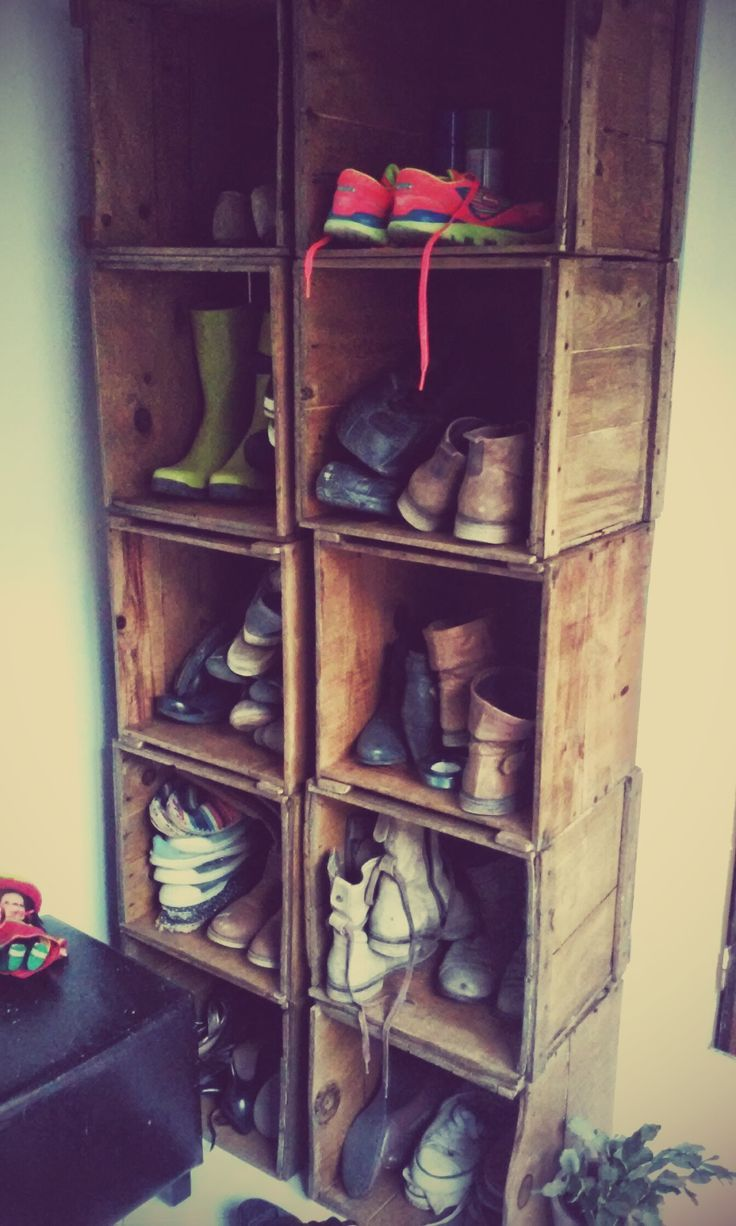 1000 images about caisse dressing range chaussures id es on pinterest. Black Bedroom Furniture Sets. Home Design Ideas