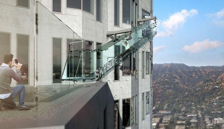 Skyslide US Bank Tower in LA by Gensler