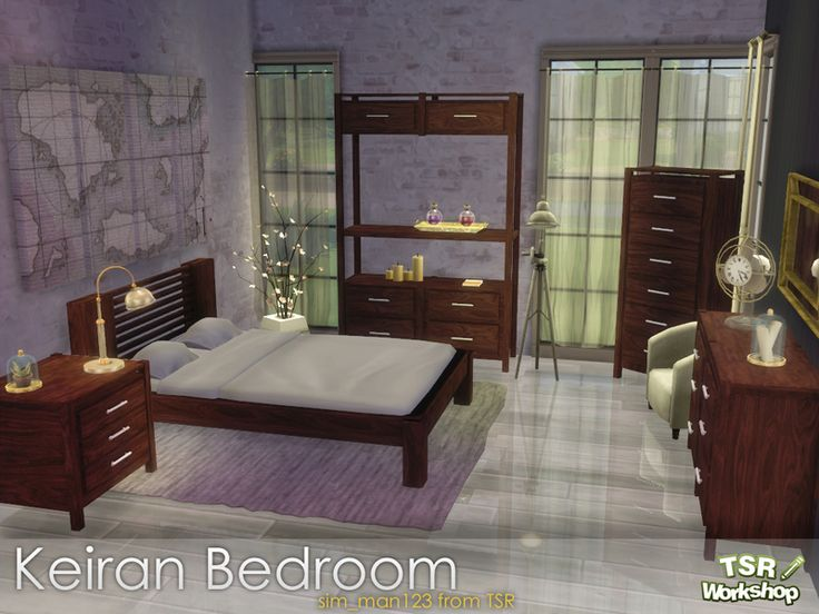 120 best Sims 4 - Bedroom images on Pinterest | Sims cc, The sims ...