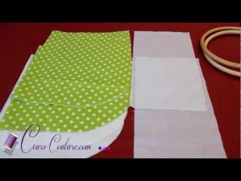 cours de couture - apprendre à coudre un sac à main pour femme - tuto de couture - YouTube