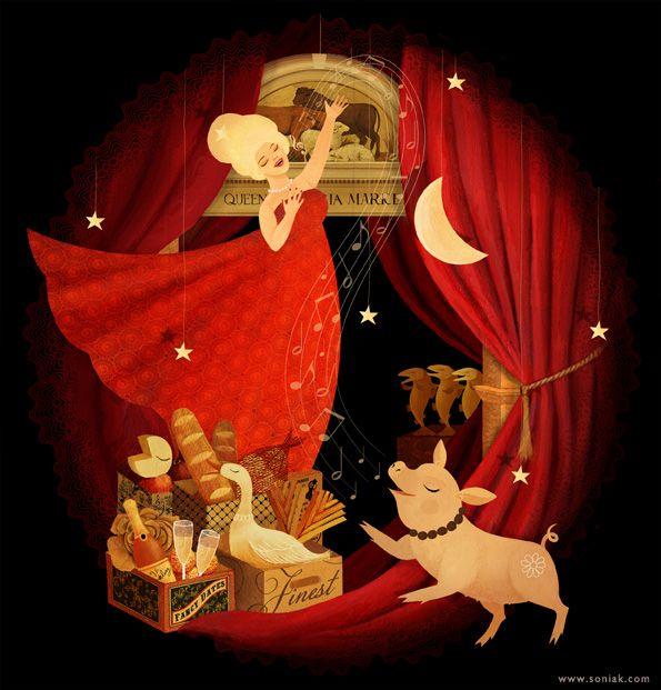 """""""Opera in the Market"""" by Sonia Kretschmar"""