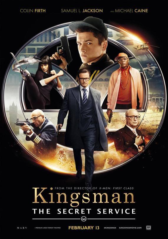 Kingsman The Secret Service Movie Poster Etsy In 2021 Kingsman The Secret Service Secret Service Movie Secret Service