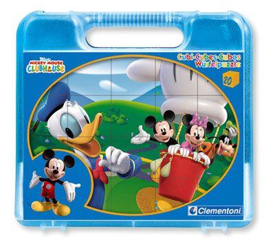Mickey Mouse Club: Cubos - 20 Peças, Clementoni, Infantil. Comprar livro na Fnac.pt