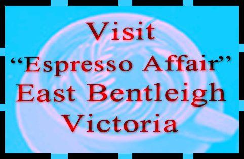 Visit Espresso affair - nice little Cafe in Bentleigh Vic